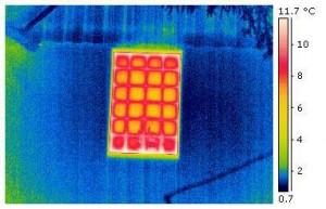 Außenwanddämmung mit Wärmebrücke Glasbauteil